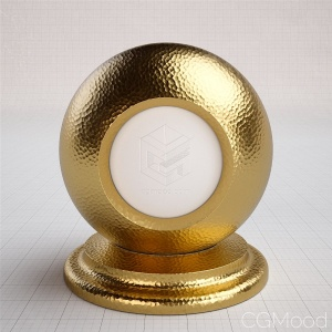 Basic shaders - Gold (hammered)