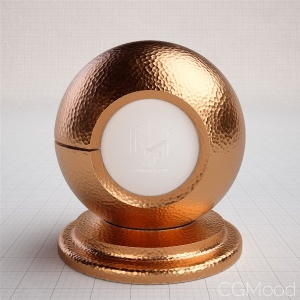 Basic shaders - Copper (hammered)