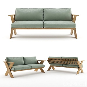 Outdoor 3 Seater Sofa