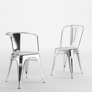Chairs T37 And A97 By Tolix