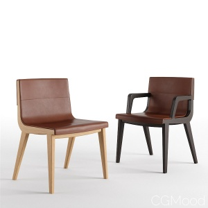 Acanto Chairs By B&b Italia