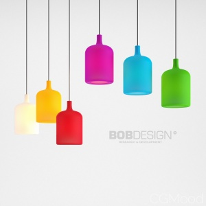 Bulb Suspension by BobDesign