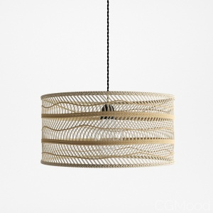 Hkliving Wicker Pendant Lamp