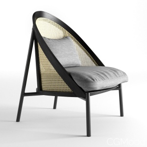 Loïe Gebrüder Thonet Vienna Lounge Chair