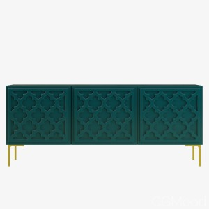 Tangier 3 Door Credenza Sideboard By Modshop