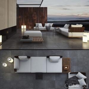 Quadrado Sofas By Minotti