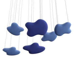 Clouds acoustics panels by Gotessons