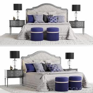 Marge Carson Rivoli Bed