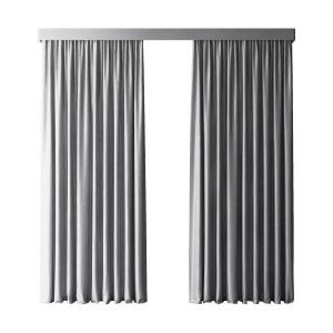 Gray Modern Curtains