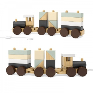 Kids Concept Neo Wooden Block Toy Train