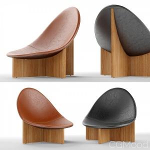 Nido Modern Lounge Chair By Estudio Persona