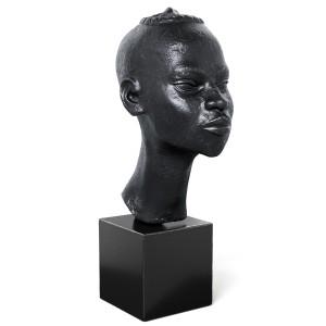 De Blonay Tete D African Statue