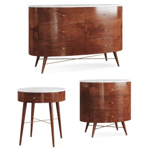 Penelope. Dresser And Bedside Table By West Elm