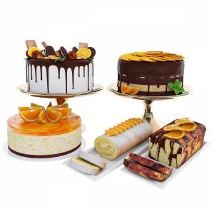 Orange Cake Collection