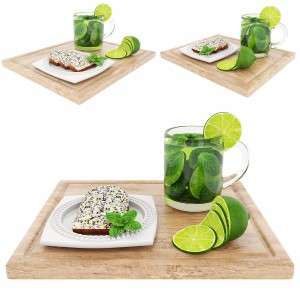 Green Tea And Poppyseed Cake