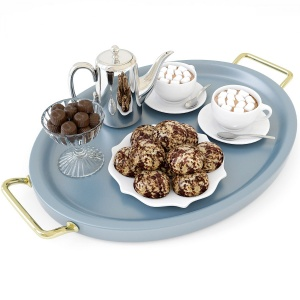 Hot Chocolate On A Tray