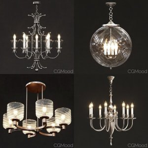 Remains chandelier collection