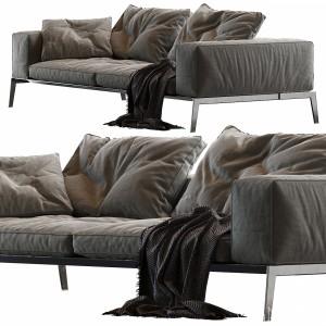 Lifesteel Flexform Sofa Fabric