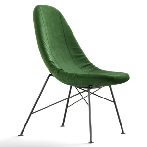 Miroslav Navratil High Back Chair Czech Republic,
