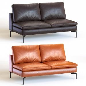 New-standard-armless-leather-sofa