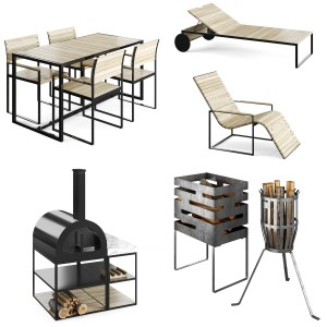 ROSHULTS furniture outdoor collection