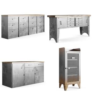 Metal Furniture Set