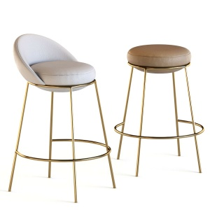 Nest Bar Stool With Backrest