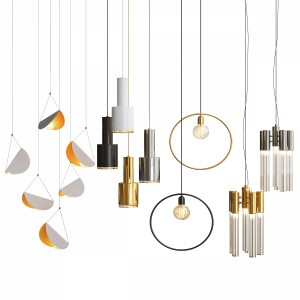 Four Hanging Lights