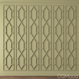 Set 11 Wall Moulding