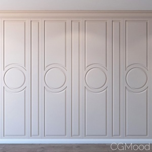Set 12 Wall Decor Moulding