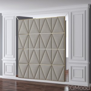 Set 15 Wall Moulding And Decor