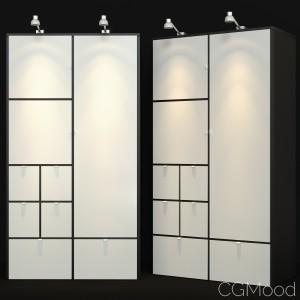 Wardrobe Ikea Visthus