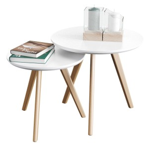 Set Of Coffee Tables Signal Milan S-2