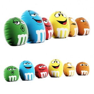 Pillows M&m's