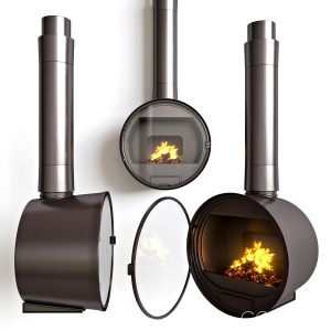 Steel Fireplace Rocal