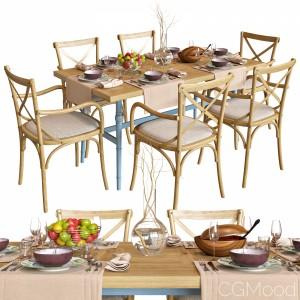 Dinette Wooden Provence