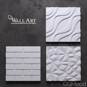 3d Panels Wall Art