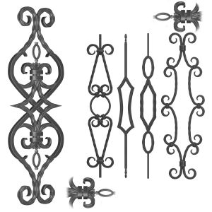 Wrought Iron Panel No.07