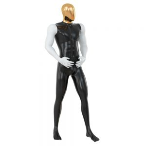 Abstract Mannequin With Golden Head 76
