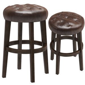 Restoration Hardware Bennett Backless Stool