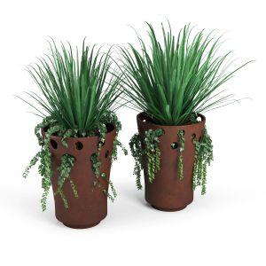 Jardiniere Green Palacio