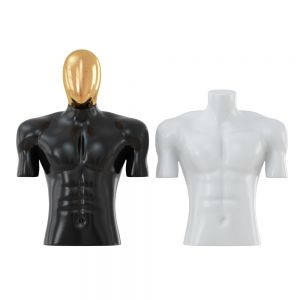 Two Torso Black And White Mannequin 78