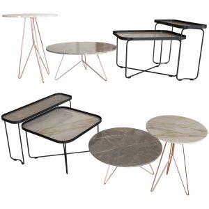 Set Of Coffee Tables. Miniforms. Cattelan.