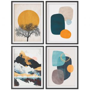A Set Of Paintings In The Scandinavian Style 007