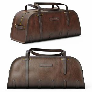 De Bruir Leather Sports Bag