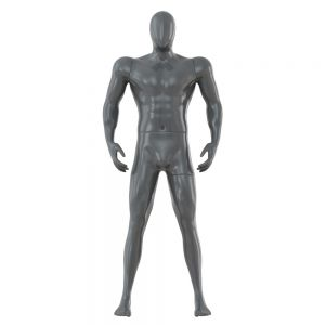 Gray Abstract Male Mannequin Sport Figure 85