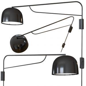 Grant Wall Lamp 111 Cm. Black