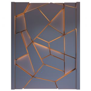 Decorative Wall Panel With Light 14