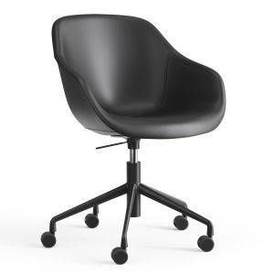 Chair Hay Aac 153  Black Leather
