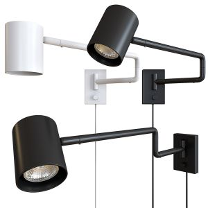 Ikea NYMÅNE Wall Lamp With Swivel Stand